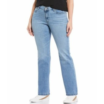 リーバイス レディース デニムパンツ ボトムス Levi'sR Plus Size Classic Straight Leg Jeans Oahu Morning Dew