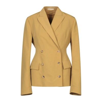 ゴールデン グース GOLDEN GOOSE DELUXE BRAND テーラードジャケット オークル S リネン 40% / ナイロン 31% /
