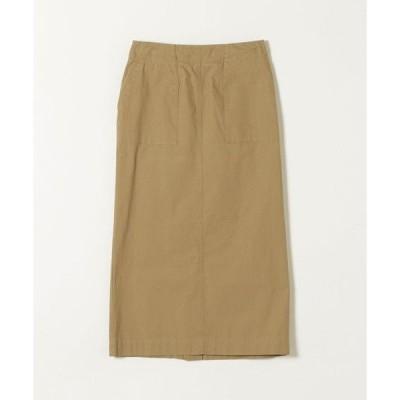 SHIPS for women / シップスウィメン SHIPS any: バフピーチリベットスカート