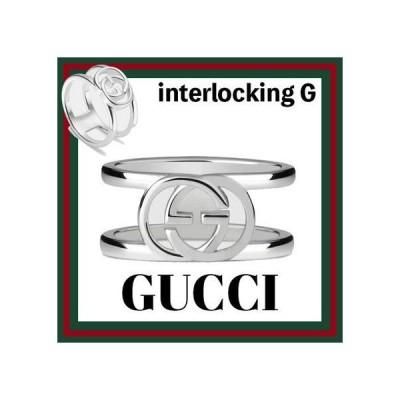 グッチ GUCCI ネックレス おしゃれ 限定 レア *Interlocking G motif*ワイドリング