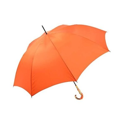 WAKAO レディース 長傘 オールカーボン 超軽量 大判 親骨65cm 手開き 8本骨 寒竹 手元 日本製 雨傘 おしゃれ ブラ