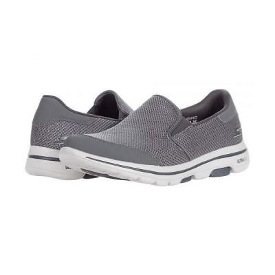 SKECHERS Performance スケッチャーズ メンズ 男性用 シューズ 靴 スニーカー 運動靴 Go Walk 5 - 216063 - Grey