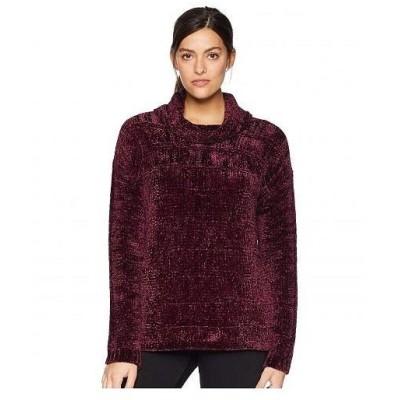 Tribal トリバル レディース 女性用 ファッション セーター Long Sleeve Cowl Neck Sweater - Zinfandel