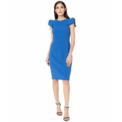 ホルストンヘリテイジ ワンピース トップス レディース Slim Fit Dress Cobalt
