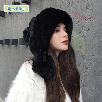 レディース ニット帽 ニット ふわふわ 厚手 女の子 編み目 秋冬 かわいい 小顔効果 防寒 ボンボン付き おしゃれ プレゼント あったか 女性用 裏起毛 スキー