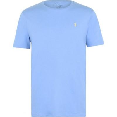 ラルフ ローレン Polo Ralph Lauren メンズ Tシャツ トップス Custom T Shirt Cabana Blue
