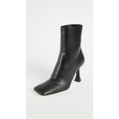 プロエンザ スクーラー Proenza Schouler レディース ブーツ ショートブーツ スクエアトゥ シューズ・靴 Square Toe Ankle Boots Black
