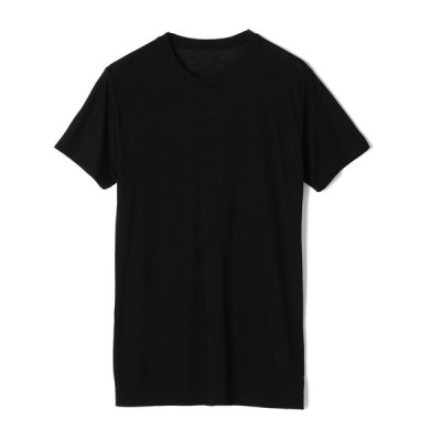 大和紡績株式会社 メンズ ボディバリア 紳士 半袖丸首Tシャツ ブラック L