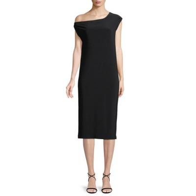 ノーマカマリ レディース ワンピース トップス Short-Sleeve Drop-Shoulder Midi Dress