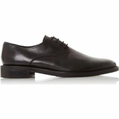 デューン Dune London メンズ 革靴・ビジネスシューズ ダービーシューズ シューズ・靴 Shooter H Leather Derby Shoes Black