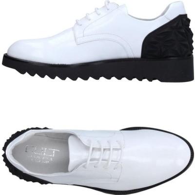 カルト CULT メンズ シューズ・靴 laced shoes White
