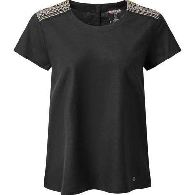シャーパ レディース Tシャツ トップス Sherpa Women's Kiran Embroidery Top