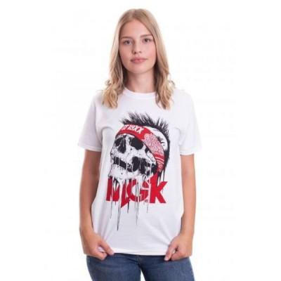 インペリコン Impericon レディース Tシャツ トップス - Invincible White - T-Shirt white