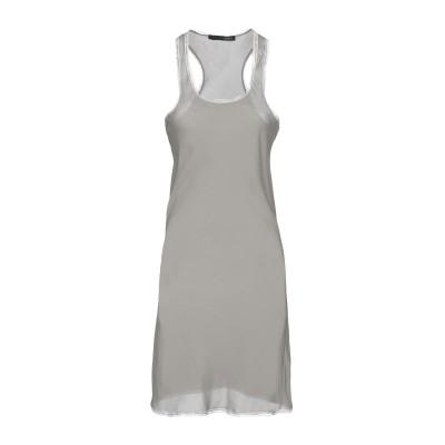 レ コパン LES COPAINS ミニワンピース&ドレス カーキ 40 ポリエステル 90% / ポリウレタン 10% ミニワンピース&ドレス