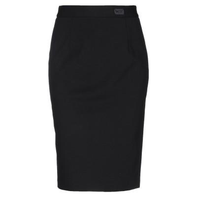 BE BLUMARINE ひざ丈スカート ブラック 40 レーヨン 65% / ナイロン 32% / ポリウレタン 3% ひざ丈スカート