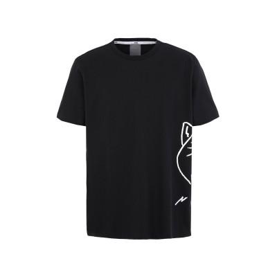 プーマ PUMA T シャツ ブラック S コットン 100% T シャツ