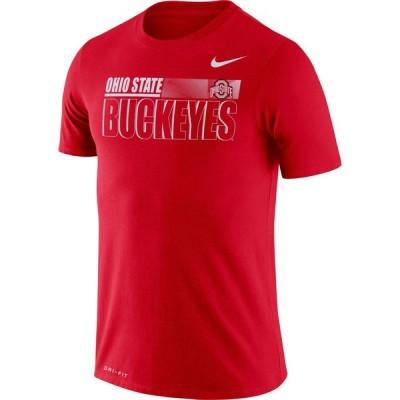 ナイキ Nike メンズ Tシャツ トップス Ohio State Buckeyes Scarlet Legend Team Issue Football T-Shirt