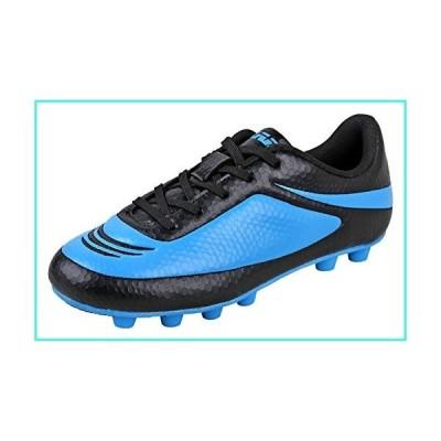 【新品】Vizari Youth/Jr Infinity FG Soccer Cleats | Soccer Cleats Boys | Kids Soccer Cleats | Outoor Soccer Shoes | Black/Sky 10(並行輸入品