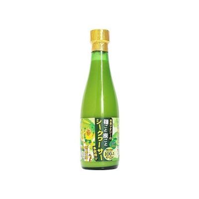 青切りシークヮーサー100(300ml)12本 【果汁100%】