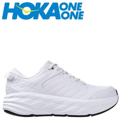 ホカオネオネ HOKA ONE ONE ボンダイ スニーカー メンズ 厚底 BONDI SR ホワイト 白 1110520