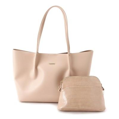 SHOO・LA・RUE / 【ポーチ・軽量・A4】シンプルトートバッグ WOMEN バッグ > トートバッグ