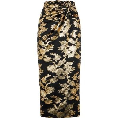 シックスティーン アーリントン 16 Arlington レディース ひざ丈スカート スカート Moriyo floral-jacquard midi skirt Multi