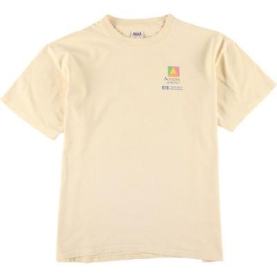 90年代 アンビル anvil Access graphics プリントTシャツ USA製 メンズXL ヴィンテージ /eaa137320