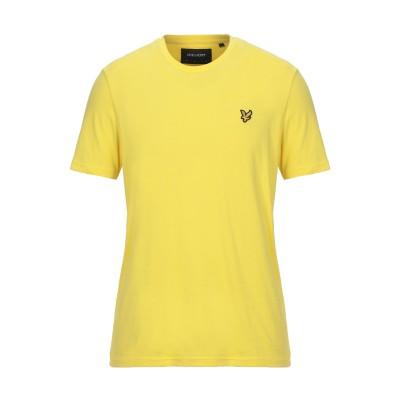 ライルアンドスコット LYLE & SCOTT T シャツ イエロー L コットン 100% T シャツ