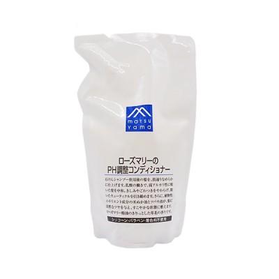 松山油脂 M-mark(エムマーク) ローズマリーのPH調整コンディショナー詰替用 550ml