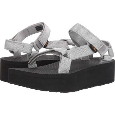 テバ Teva レディース シューズ・靴 Flatform Universal Metallic Silver