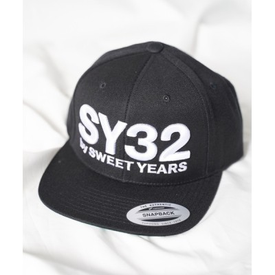 WEST CLIMB / 【73】【it】【SY32 by SWEET YEARS】3D LOGO SNAPBACK CAP WOMEN 帽子 > キャップ