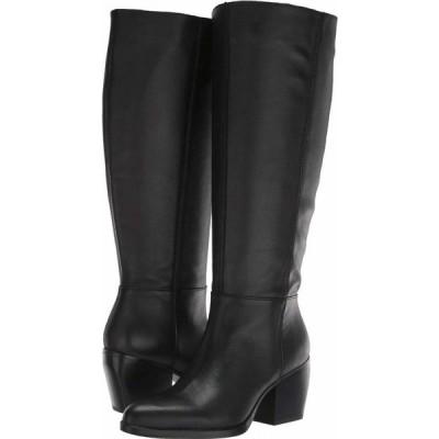 ナチュラライザー Naturalizer レディース ブーツ シューズ・靴 Fae Wide Calf Black Leather