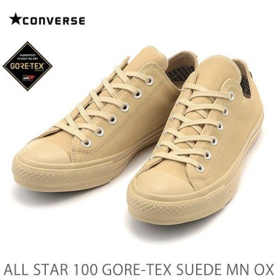 コンバース オールスター CONVERSE ALL STAR 100 GORE-TEX SUEDE MN OX ベージュ コンバース オールスター 100 ゴアテックス スエード MN OX スニーカー