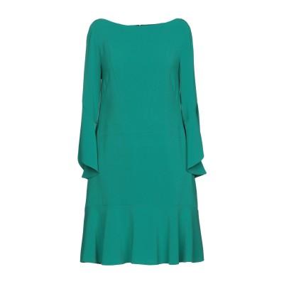 TALBOT RUNHOF ミニワンピース&ドレス グリーン 36 71% トリアセテート 29% ポリエステル ミニワンピース&ドレス
