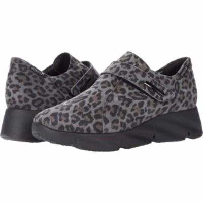 メフィスト Mephisto レディース シューズ・靴 Halyssa Dark Grey Leopard
