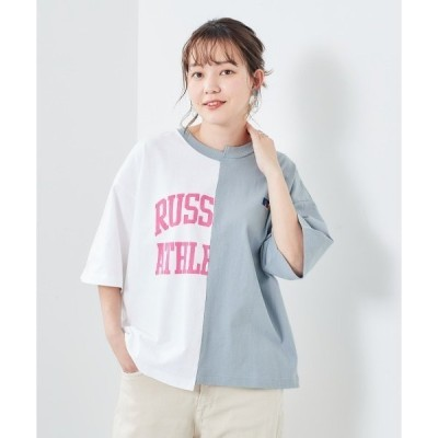 tシャツ Tシャツ 【CEPO×RUSSELL 】リメイクTee
