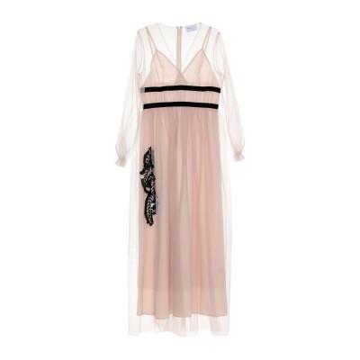 ISABELLE BLANCHE Paris ロングワンピース&ドレス ローズピンク M ポリエステル 100% ロングワンピース&ドレス