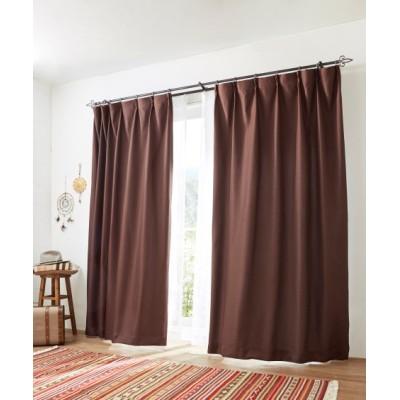 遮光裏地付きワッフルカーテン ドレープカーテン(遮光あり・なし) Curtains, blackout curtains, thermal curtains, Drape(ニッセン、nissen)