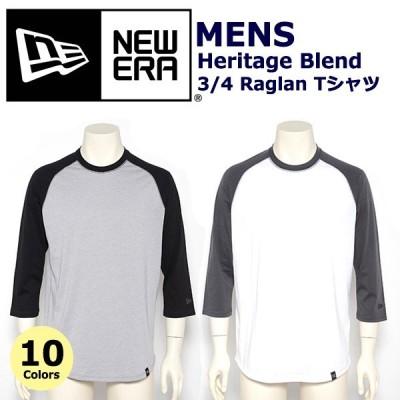 ニューエラ Tシャツ 七分袖 ベースボールT NEW ERA メンズ