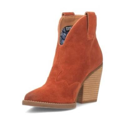 ディンゴ レディース ブーツ&レインブーツ シューズ Women's Flannie Leather Bootie Rust