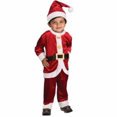 クリスマス 衣装 子供 ルービーズ サンタクロース コスチューム 女の子 男の子 90-120cm Rubie's 885980