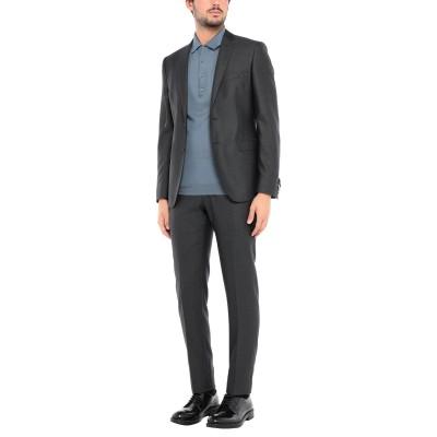 トネッロ TONELLO スーツ スチールグレー 48 バージンウール 71% / コットン 27% / ポリウレタン 2% スーツ