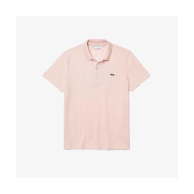 【ラコステ】 バックステッチワントーンポロシャツ メンズ ベビーピンク 3(日本サイズM) LACOSTE