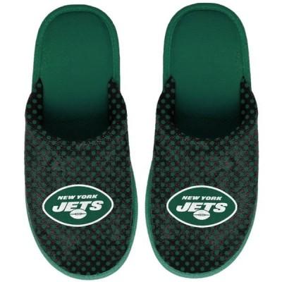 フォコ レディース サンダル シューズ New York Jets Women's Big Logo Scuff Slippers