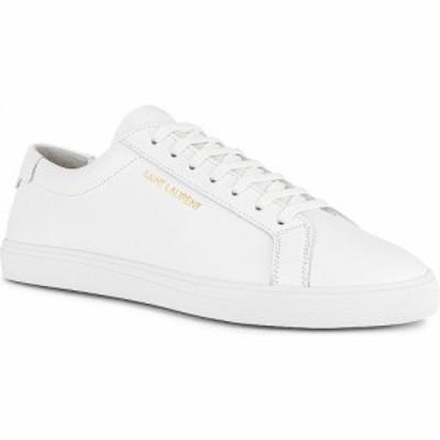 イヴ サンローラン Saint Laurent メンズ スニーカー シューズ・靴 Andy Sneaker White