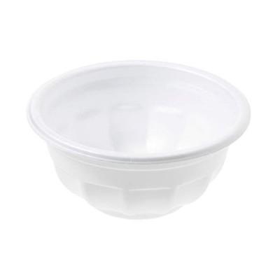 ストリックスデザイン 発泡どんぶり 小 日本製 50個 白 300ml 直径12×5.3cm 業務用 使い捨て スチロール 容器 イベント