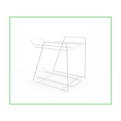 FixtureDisplays 2段メタルキャンディBin表示ラックplaxiglassアクリルBinカウンタトップラッ