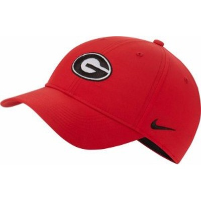 ナイキ メンズ 帽子 アクセサリー Nike Men's Georgia Bulldogs Red Legacy91 Adjustable Hat