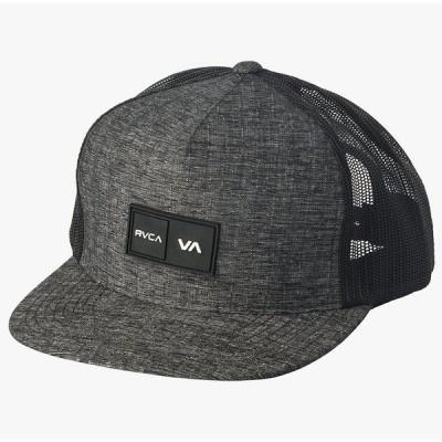 RVCA Balance Trucker Hat Cap Charcoal キャップ 送料無料