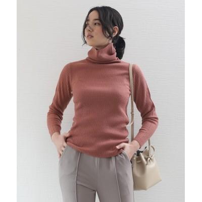 aimoha / タートルネック 長袖 ニットセーター WOMEN トップス > Tシャツ/カットソー